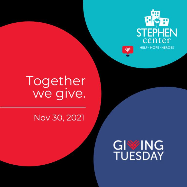 This image describes the Stephen Center's Together We Give event.